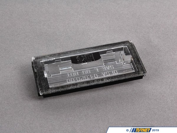 T#23614 - 51138244336 - License Plate Light Lens - E46 Convertible 2000-2003 - Genuine BMW - BMW