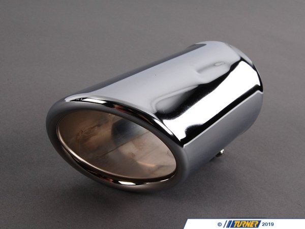 Genuine BMW Genuine BMW Chrome Line Exhaust Tip - E46 323i 323Ci 325i 328i 82129410926