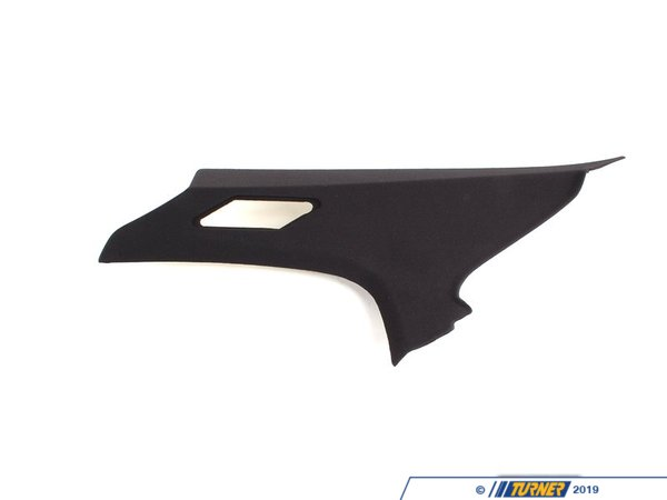 T#24024 - 51437902938 - Genuine BMW Cover Column C Right Schwarz - 51437902938 - E46 - Genuine BMW -