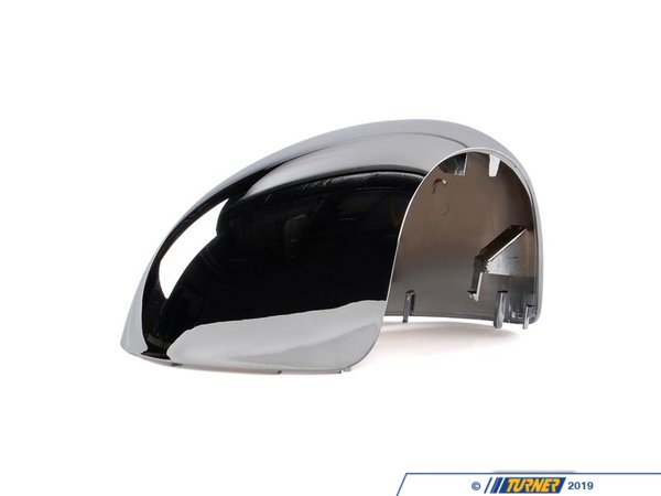 T#82332 - 51162753882 - Genuine MINI Mirror Cover, Right Chrome Beiklapp - 51162753882 - Genuine MINI -