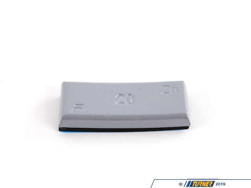 T#66176 - 36116766332 - Genuine BMW Balance Weight, Zinc, W. Adh - 36116766332 - Genuine BMW -