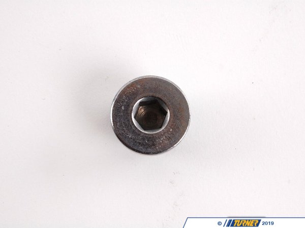 T#27702 - 07119905428 - Genuine BMW Oil Drain Plug - N62 N63 4.4L 4.8L - Genuine BMW - BMW