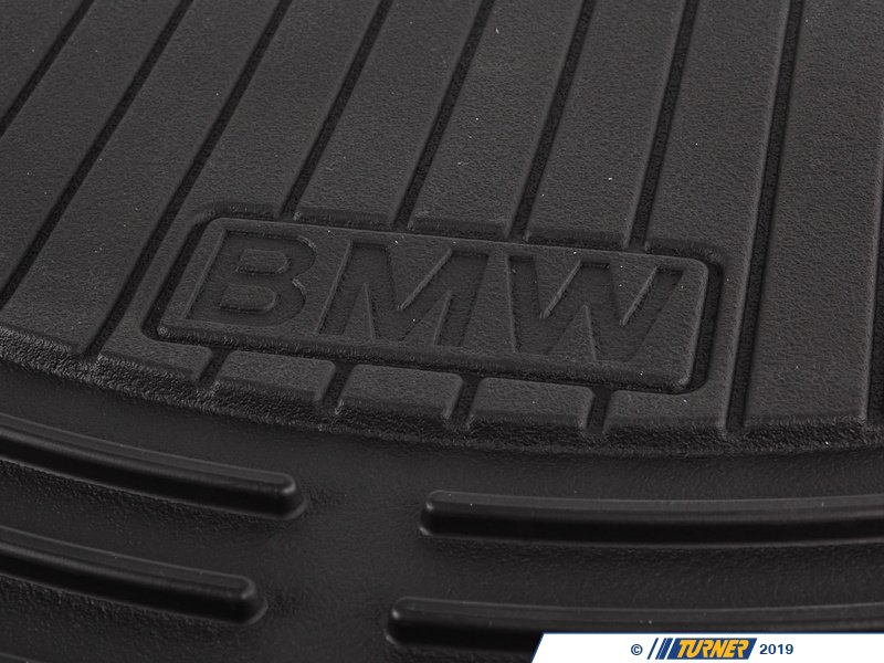 82550302997 Genuine Bmw Front Rubber Floor Mat Set