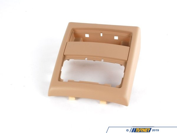 Genuine BMW Genuine BMW Interior Center Console Rear Trim - Beige 51167145683