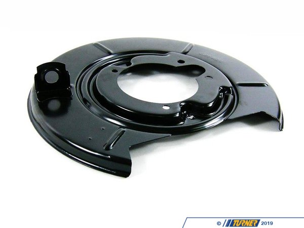 T#8063 - 34211162061 - Rear Brake Backing Plate - Left -  E30 318is, 325e 325i 325is, E36 318ti, Z3 - Genuine BMW - BMW