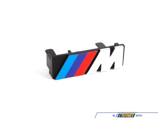 "T#8833 - 51141884015 - Genuine BMW Trim Letter """"m"""" Front 51141884015 - Genuine BMW -"