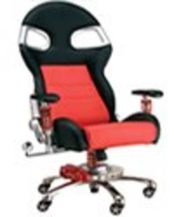 RaceChairs PitStop Formula One Office Chair - (NO LONGER AVAILABLE) F1-DESK-CHAIR