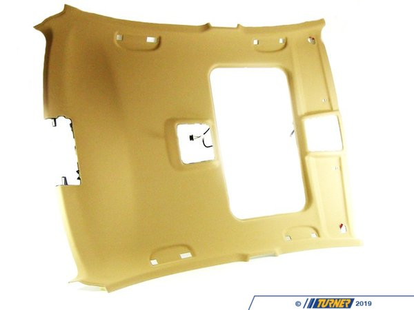 T#105914 - 51446960557 - Genuine BMW Molded Roof Lining Beige - 51446960557 - E90 - Genuine BMW -