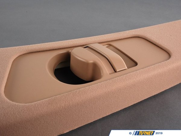 T#25346 - 51438226551 - Genuine BMW Cover, B-Column Upper Left Hellbeige - 51438226551 - E46 - Genuine BMW -