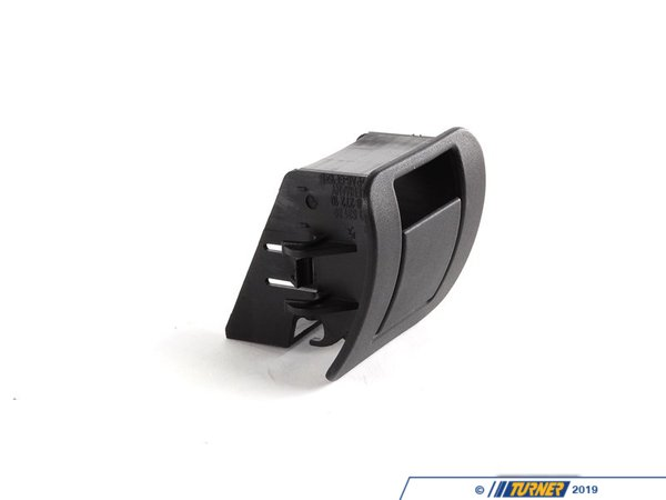 T#129630 - 52207053140 - Genuine BMW Cover Isofix Schwarz - 52207053140 - E39 - Genuine BMW -