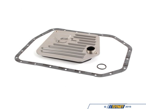 Packaged by Turner OEM Automatic Transmission Filter Kit - E39 540i E38 740i 740il E31 840i 840Ci X5 4.4i 4.6is 24341422673KIT