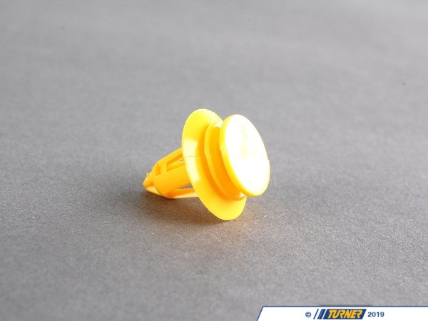 T#6547 - 07131503417 - Genuine Mini Clip, Yellow 07131503417 - Genuine Mini -