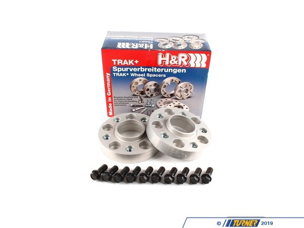 H&R H&R 30mm Bolt-On Wheel Spacers with Mounting Bolts - E70 X5M, E71, F02, F10, F06/F13, F25, F30 60757254