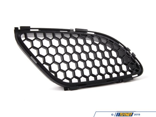 T#21205 - 51768041985 - Genuine BMW Trim Grill For Front Flap, L 51768041985 - Genuine BMW Trim Grill For Front Flap, Left - This item fits the following BMW Chassis:E90,E92,E93 - Genuine BMW -