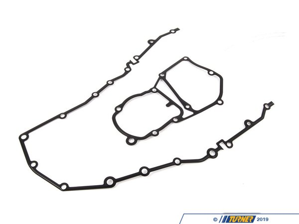 Genuine BMW Genuine BMW Gasket Set - Upper and Lower Chain Case Cover - E36 11141247633