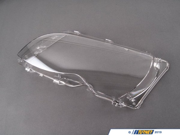 Genuine BMW Genuine BMW Headlight Lens Cover - Left - E46 325i 325xi 330i 330xi 63126923411