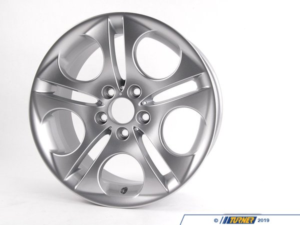 "T#66269 - 36116758193 - 18x8.5"" ET50 Ellipsoid Style 107 Wheel - Genuine BMW -"