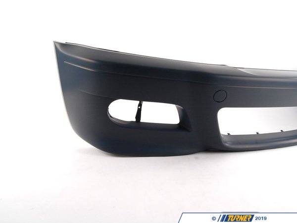 T#12772 - 51117894989 - Genuine BMW Trim Cover, Bumper, Primered, Front - 51117894989 - E46 M3 - Genuine European BMW -