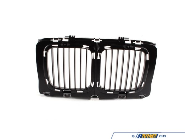 T#23521 - 51131973825 - Genuine BMW Grille Center - 51131973825 - E34,E34 M5 - Genuine BMW -