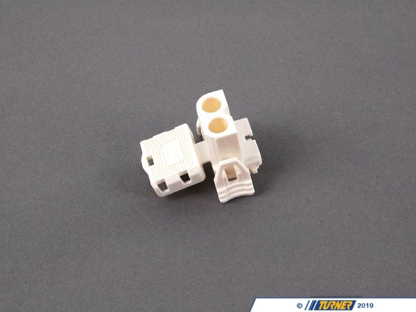 T#10468 - 61131378417 - Genuine BMW Plug Housing, White 61131378417 - Genuine BMW -