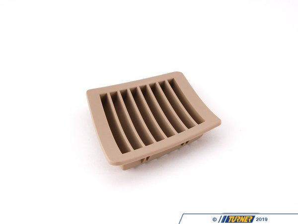 T#103281 - 51437057939 - Genuine BMW Grille, Rear Ventilation, Le - 51437057939 - Beige - Genuine BMW -