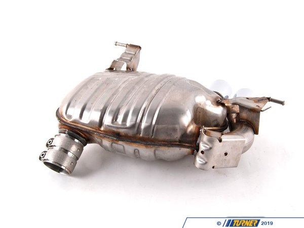 T#5189 - 18102208804 - Genuine BMW M Performance Muffler - E82 128i, E88 128i - 2008+ - Genuine BMW - BMW