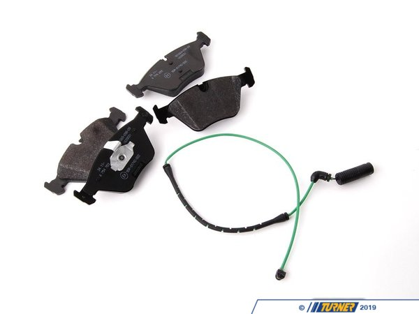 T#20870 - 34112157573 - Genuine BMW Set Of Brake Pads With Wear 34112157573 - Genuine BMW Set Of Brake Pads With Wear Sensors - Value LineThis item fits the following BMW Chassis:E46 - Genuine BMW -