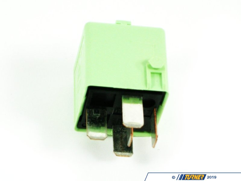 61368373700 Genuine Bmw White Green Relay Multiple
