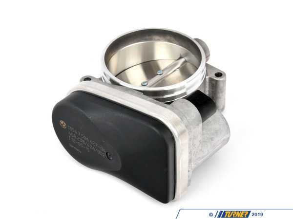 Genuine BMW Throttle Body Assembly - E53 X5, E60 545i, E63 645ci, E65 745i w N62 engine 13547506627