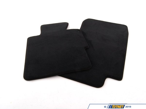 T#111490 - 51477059131 - Genuine BMW Set Of Floor Mats Velours Anthrazit - 51477059131 - Genuine BMW -