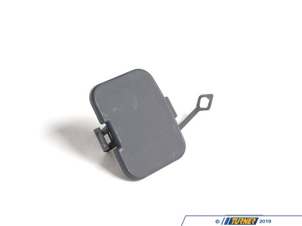 T#79018 - 51128222612 - Genuine BMW Flap, Towing Eye, Primed - 51128222612 - E46 - Genuine BMW -