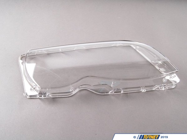 T#5309 - 63126924046 - Headlight Lens - Right - E46 4 door - 2002-2005 - AL Brand - Genuine BMW - BMW