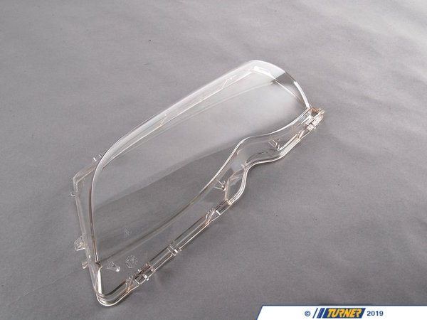 Genuine BMW Headlight Lens - Left - E46 4 door - 2002-2005 - AL Brand 63126924045