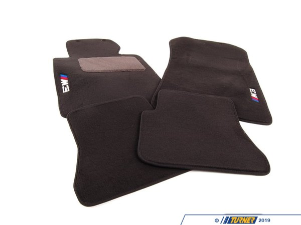 Genuine BMW Genuine BMW Floor Mats M3 Cabrio Anthr - 82110136311 - E46 M3 82110136311