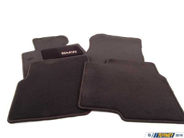 T#12862 - 82111468282 - Genuine BMW Accessories Floor Mat 82111468282 - GENUINE BMW FLOORMAT:519011.--This item fits the following BMWs:BMW 3 Series - 318i, 318is, 323is, 325i, 325is, 328i, 328is BMW M Series- M3--. - Genuine BMW -