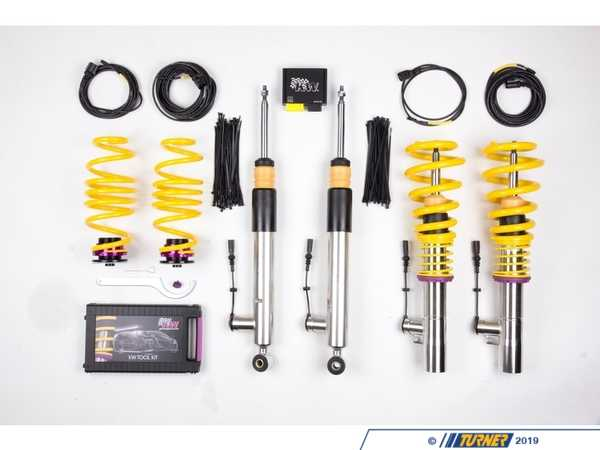 KW Suspension KW DDC Coilover Kit - DDC ECU Controlled - E91 325i 328i 39020006