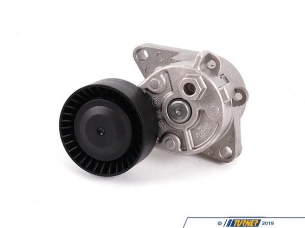 T#4466 - 11281427252 - OEM INA Mechanical Belt Tensioner with Pulley for Water Pump / Alternator  - Ina - BMW