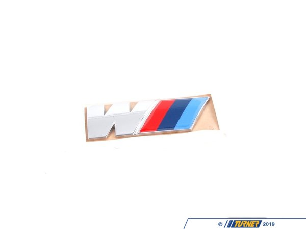 "T#23661 - 51147250850 - ""M"" Rear Emblem - E71 X6M - Genuine BMW - BMW"