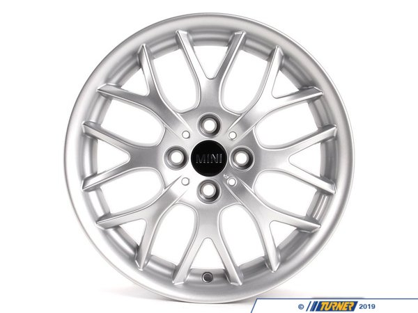 T#66448 - 36116775855 - Genuine MINI Light Alloy Rim 6 1/2Jx16 Et:48 - 36116775855 - Genuine MINI -