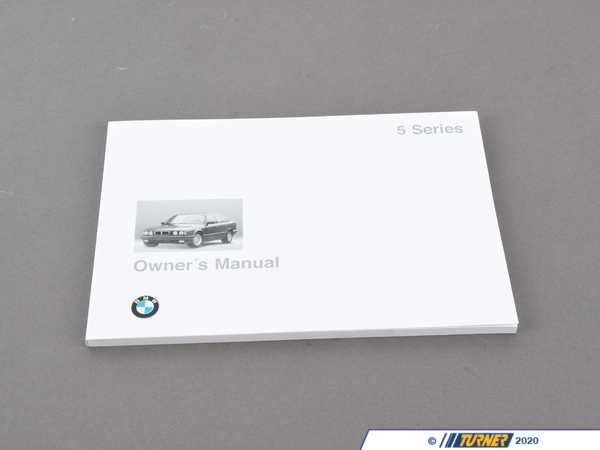 Genuine BMW Genuine BMW Owner's Handbook E34 - 01479788267 - E34 01479788267