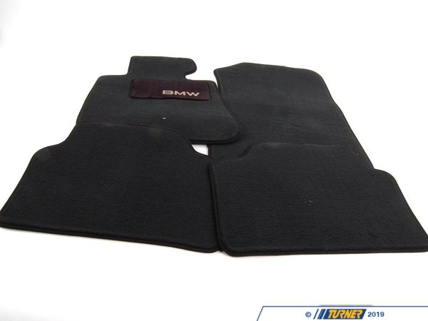 T#12435 - 82112293523 - Genuine BMW Accessories CARPET Floor Mats, Black 82112293523 - Genuine BMW -