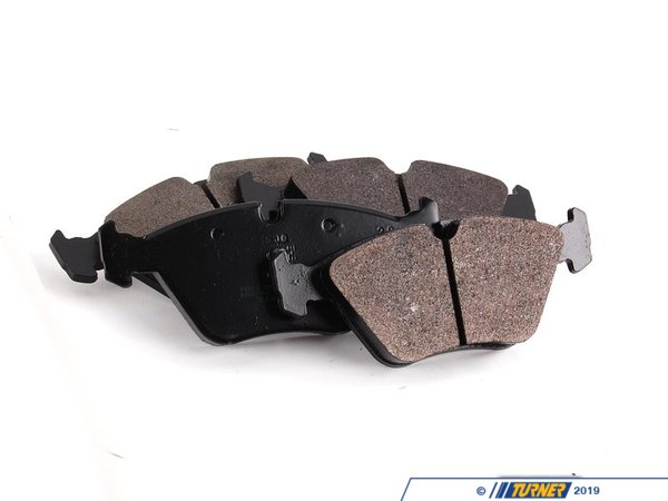 T#1249 - TMS1249 - Hawk HP Plus Brake Pads - Front - E32, E34, E36 M3, E46 M3, E39 528i, MZ3 - Hawk - BMW