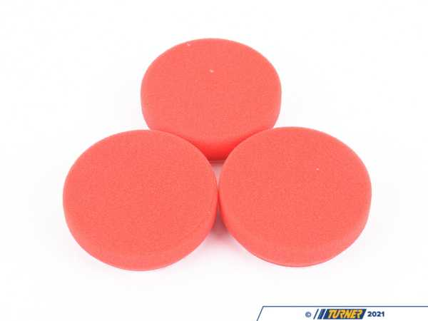 "Griot's Griot's Garage 3"" Red Waxing Pads Set of 3 11263"
