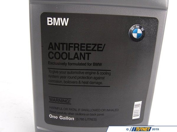 T#1474 - 82141467704 - BMW Coolant / Antifreeze, 1 Gallon Jug - Genuine BMW - BMW
