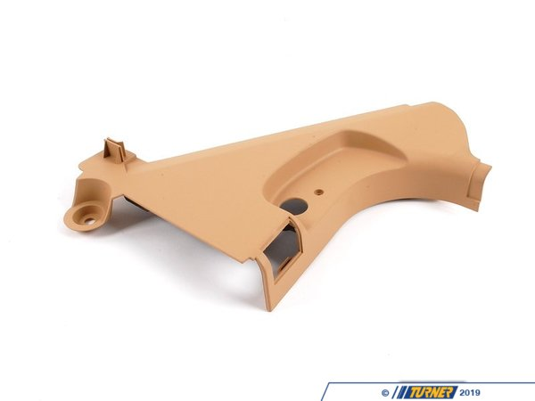 T#102999 - 51437013801 - Genuine BMW Lateral Trim Panel Front Left Beige - 51437013801 - E65 - Genuine BMW -