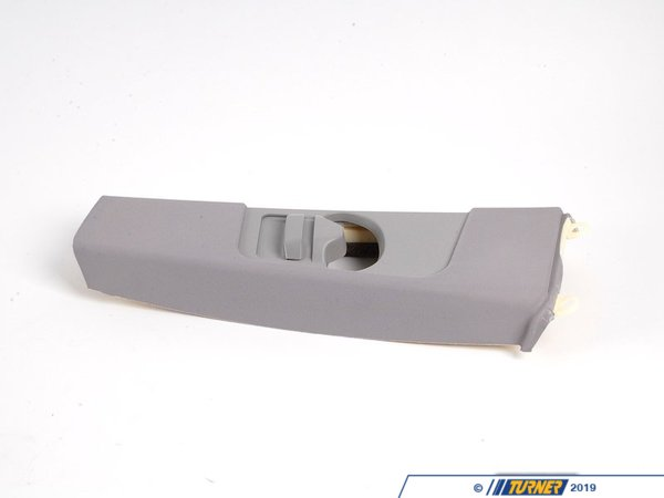 T#103339 - 51437065361 - Genuine BMW Left Upper Column A Cover Its Hellgrau - 51437065361 - E46 - Genuine BMW -