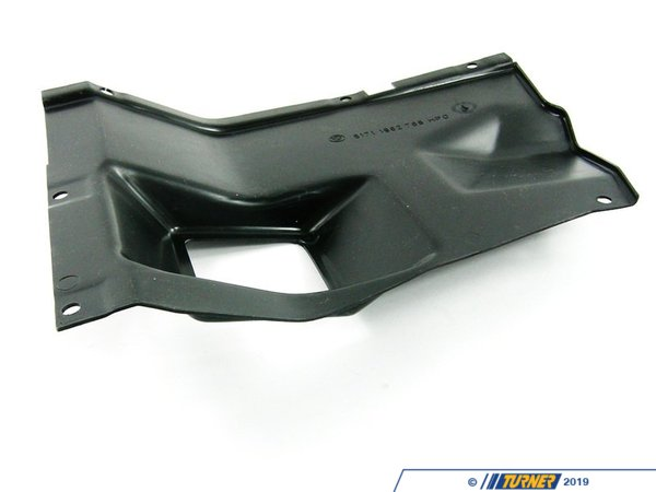 Genuine BMW Genuine BMW E30 Lower Fender Liner W/Air Duct - Right - E30 318i 318is 325ix 325i 325is 325e 51711962768