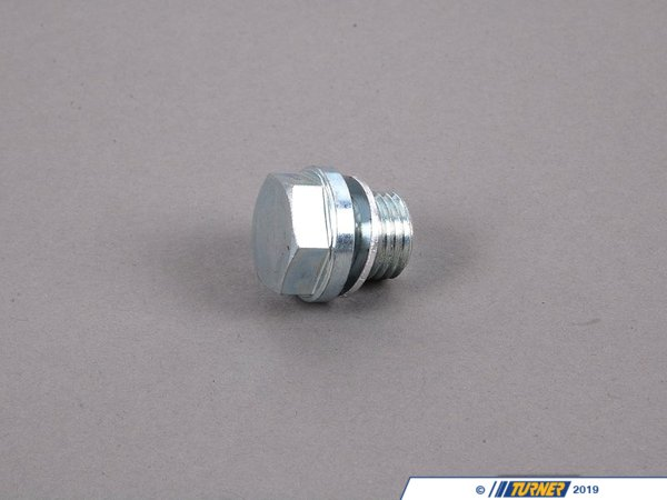 T#31263 - 11121740003 - Genuine BMW Screw Plug With Gasket Ring - 11121740003 - Genuine BMW -