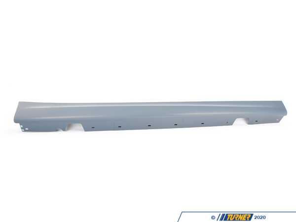 Genuine BMW Genuine BMW Rocker Panel Trim, Primered, Right -M- - 51778041142 - E90 51778041142