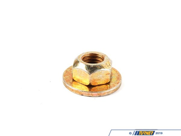 T#7799 - 32101133077 - Genuine BMW Hex Nut With Plate M10 - 32101133077 - E34,E34 M5 - Genuine BMW -
